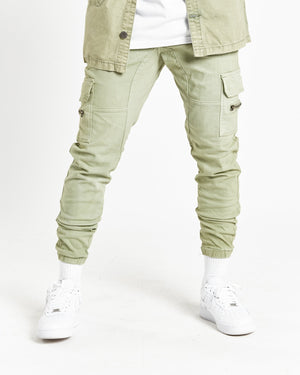 Fort Utility Cargo Trousers Green