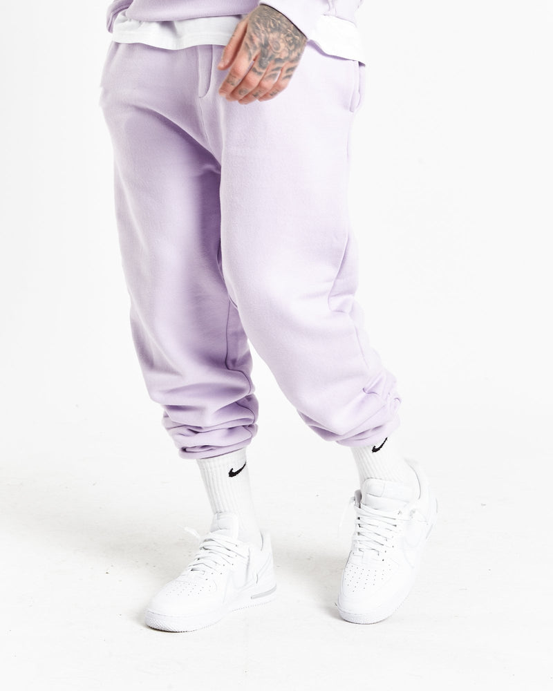 Bad habits relaxed jogger in pastel lilac