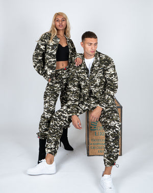 Liquor n Poker - Fort utility camo trousers unisex