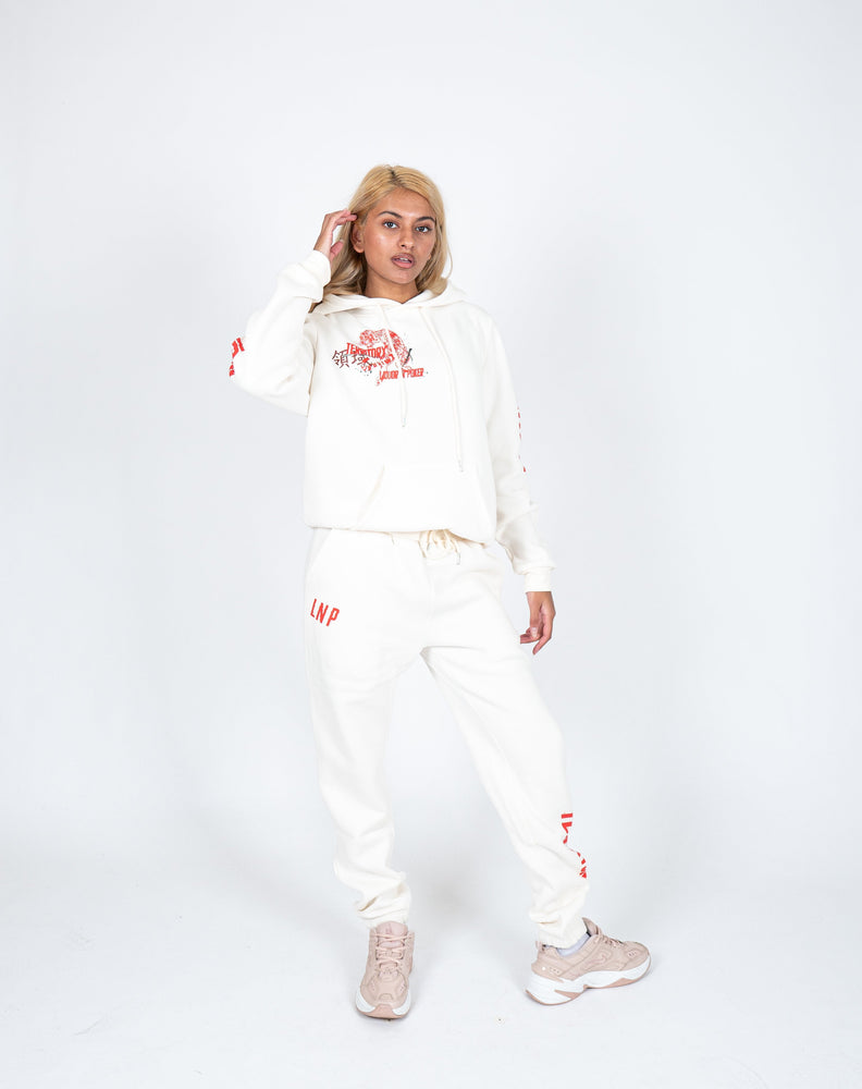 Load image into Gallery viewer, Liquor n Poker - UNISEX Territory jogger in off white
