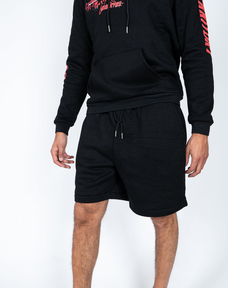 Liquor n Poker - UNISEX Essentials jersey shorts in black