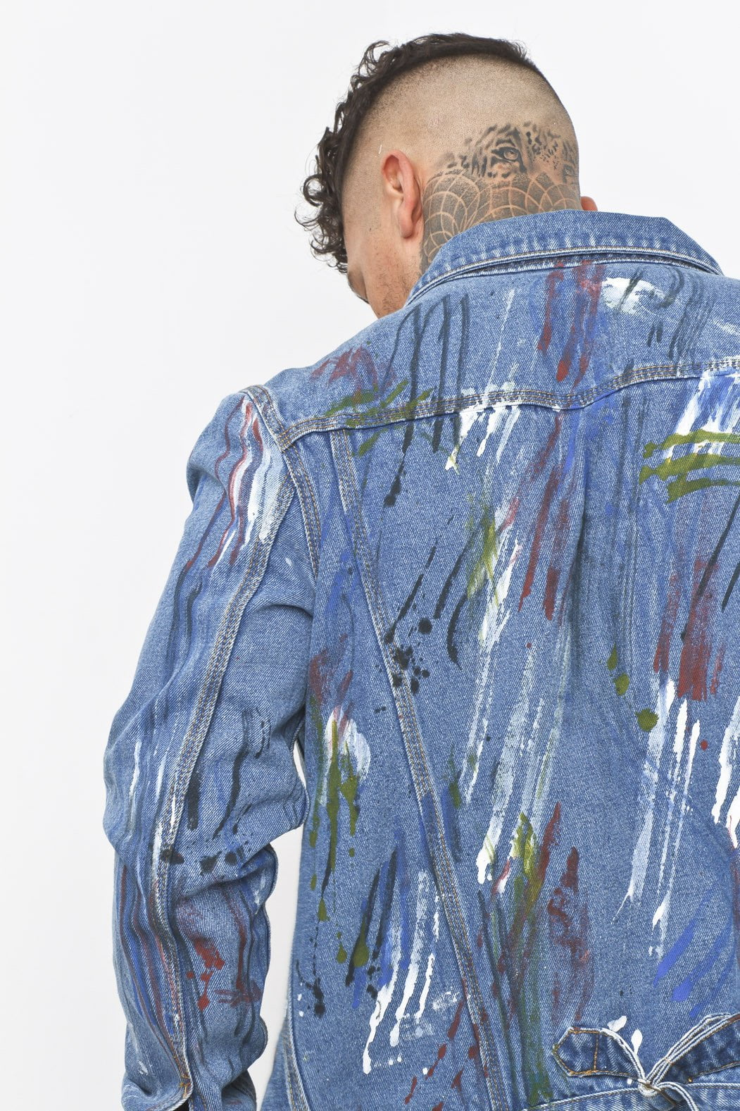 Light Wash Denim Jacket Mens