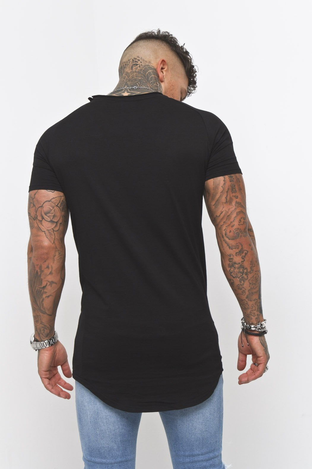Liquor n Poker - Muscle fit t shirt in black - Liquor N Poker  Liquor N Poker