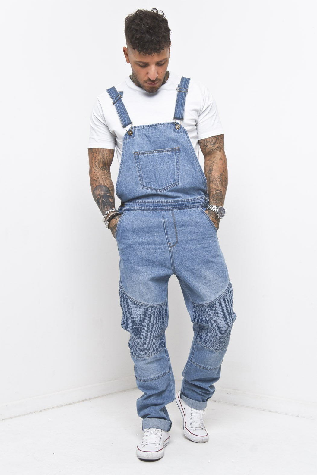 Liquor n Poker - Louisiana Biker Dungaree - Liquor N Poker  Liquor N Poker