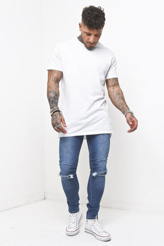 Muscle Fit T-Shirt In Beige