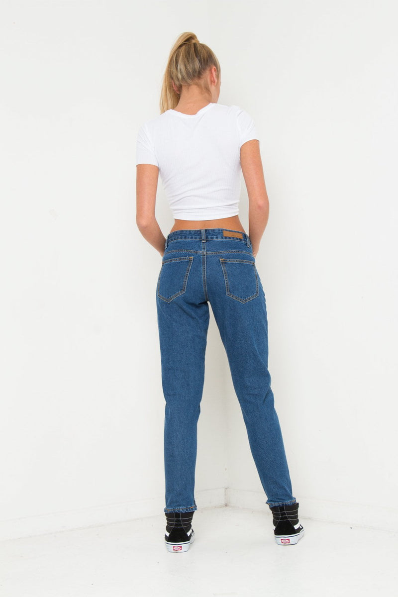 ALEXA CLEAN GIRLFRIEND JEAN IN VINTANGE INDIGO - Liquor N Poker  Liquor N Poker