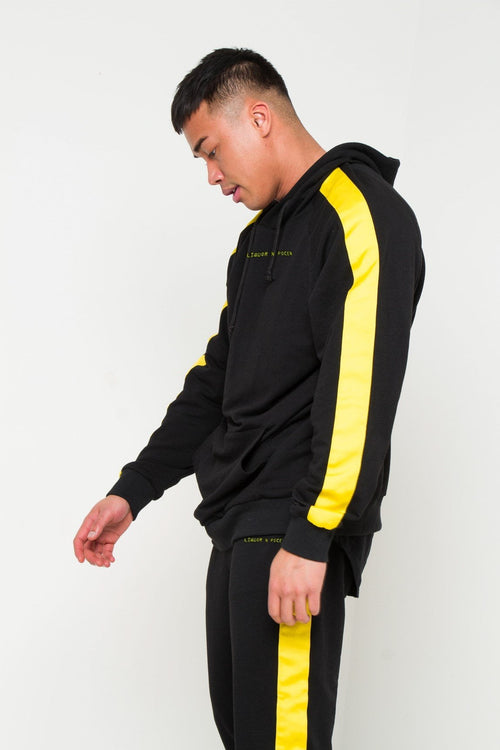 VENICE SLIM FIT JOGGER WITH YELLOW SPORTS STRIPE