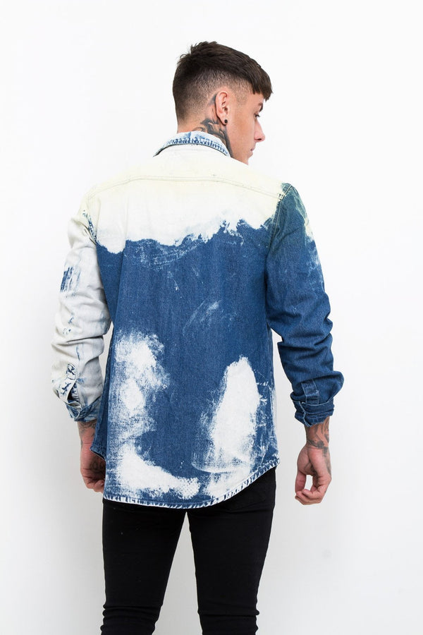 Tye Dye Denim Shirt