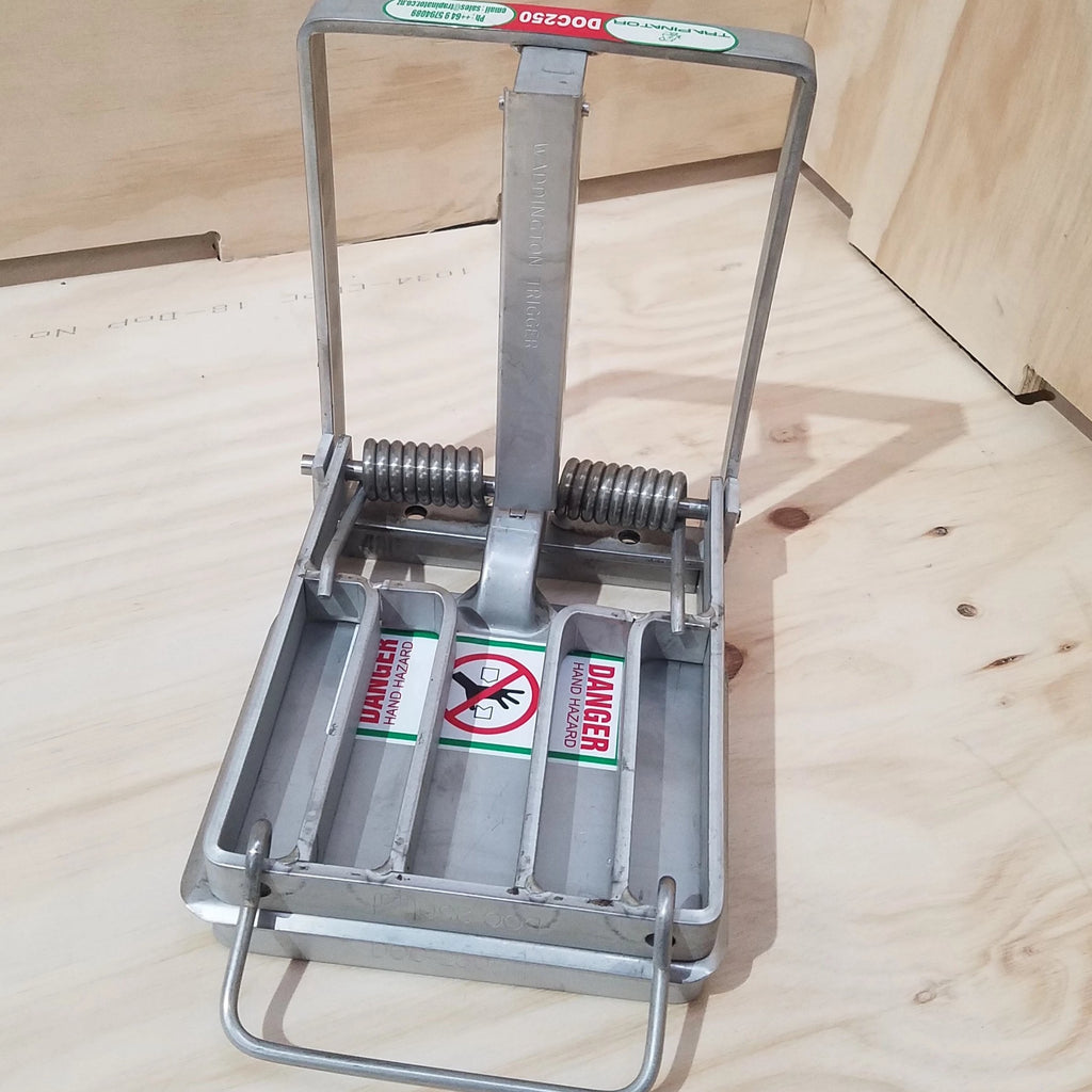 DOC250 Stainless Steel Trap Mechanism