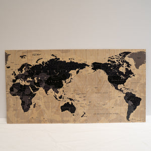 Plywood Wall Print