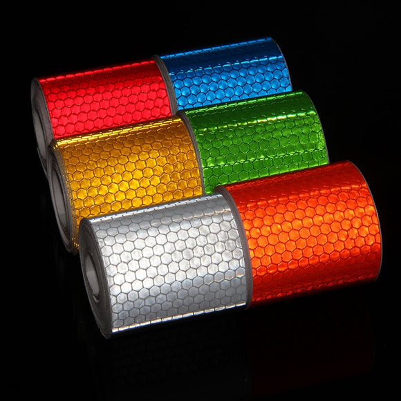 5cmx3m Reflective Bicycle Stickers Adhesive Tape For Safety - all4detox