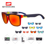 Queshark Unisex Polarized Cycling Sunglasses - all4detox