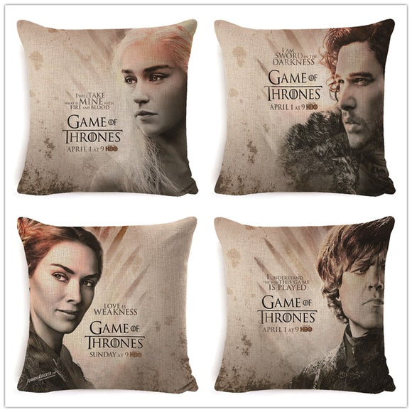 Game of Thrones Cushion Cover 45x45CM (18x18IN) - all4detox