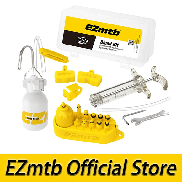 EZMTB Bicycle universal Hydraulic Bleed Kit Lite Version for all kinds of brakes - all4detox