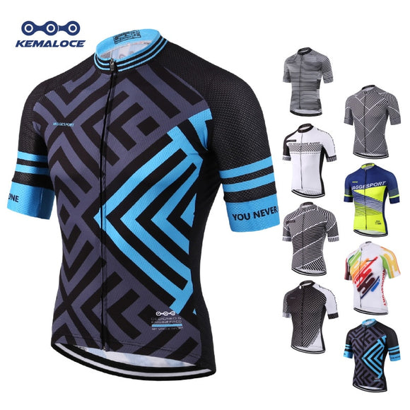 European Latest Full Sublimation Cycling Jersey Breathable - all4detox