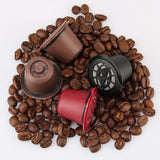 3pcs/pack Reusable Nespresso Coffee Capsule - all4detox