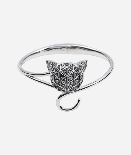 KARL LAGERFELD, FACETED CHOUPETTE CUFF