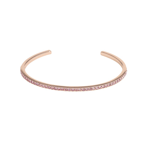 Adore Allure Antique Pink Skinny Pavé Bangle Detail
