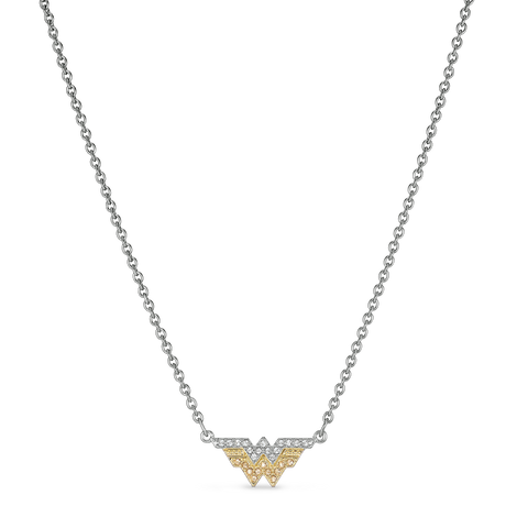 NEW SWAROVSKI Fit Wonder Woman Necklace, Gold tone, Mixed metal finish