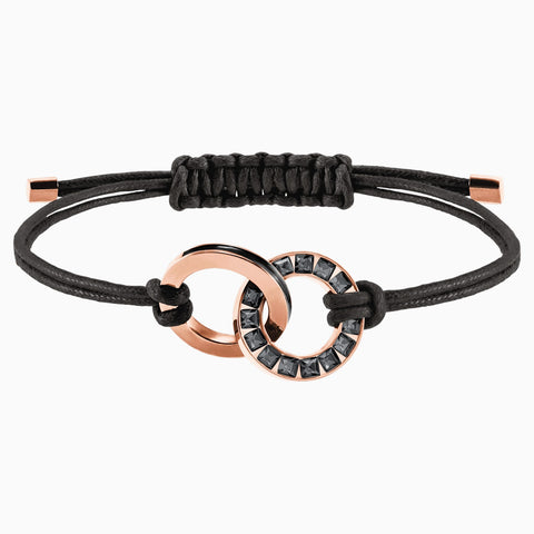 ALTO BRACELET, GRAY, ROSE-GOLD TONE PLATED