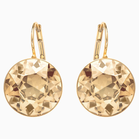BELLA PIERCED EARRINGS, GOLD TONE, GOLD-TONE PLATED