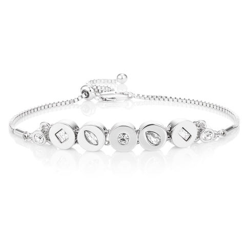 Buckley London,  Knightley Friendship Bracelet - Silver