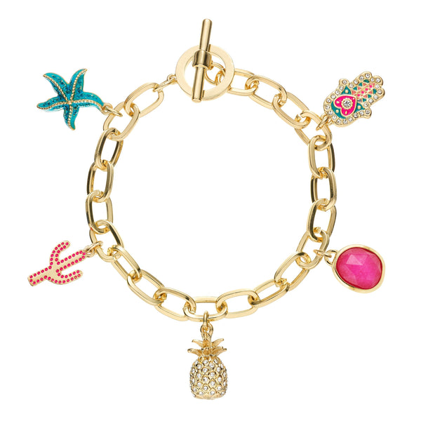 BUCKLEY LONDON, Paradise Charm Bracelet