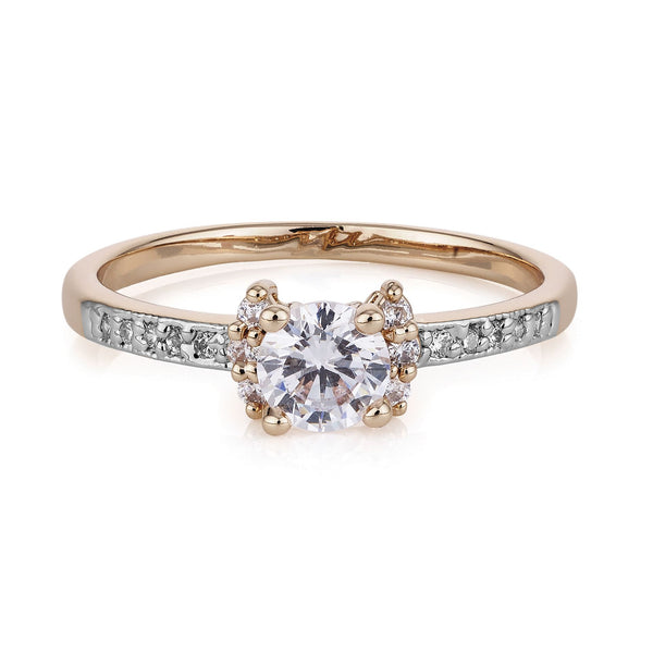 Buckley London, Rose Gold Solitaire Ring