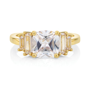 Buckley London, Staggered Baguette Ring