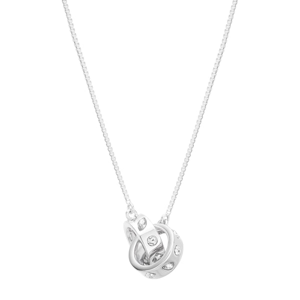 Buckley London, Knightley Interlocking Pendant - Silver