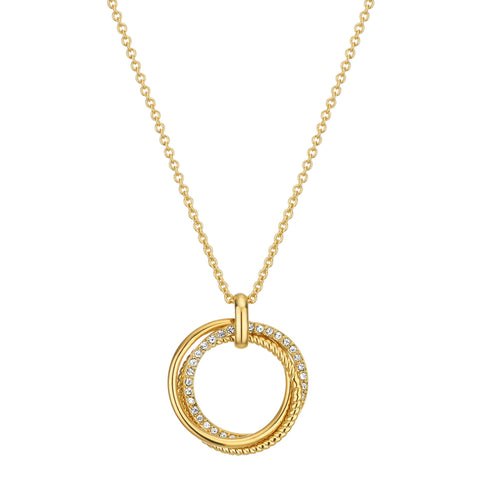 Buckley London, Cleo Triple Ring Pendant
