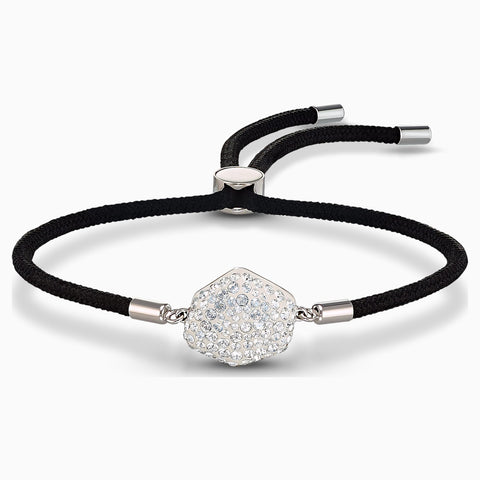 NEW SWAROVSKI POWER COLLECTION AIR ELEMENT BRACELET, BLACK, STAINLESS STEEL