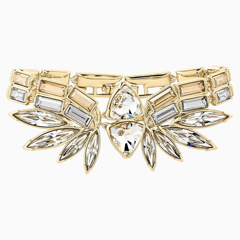 WONDER WOMAN BANGLE, GOLD TONE, GOLD-TONE PLATED