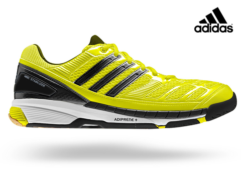 adidas BT Feather Badminton Shoes - Yellow