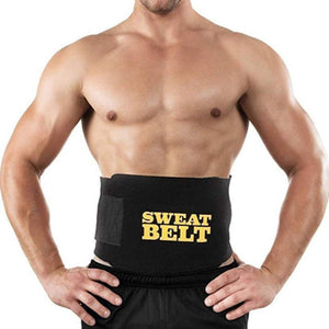 Sweet Sweat Belt Tummy Trimmer For Both Men & Women (BUY 1 GET 1 FREE) - YogaDeal