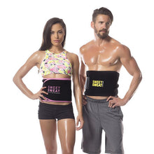 Load image into Gallery viewer, Sweet Sweat Belt Tummy Trimmer For Both Men & Women (BUY 1 GET 1 FREE) - YogaDeal