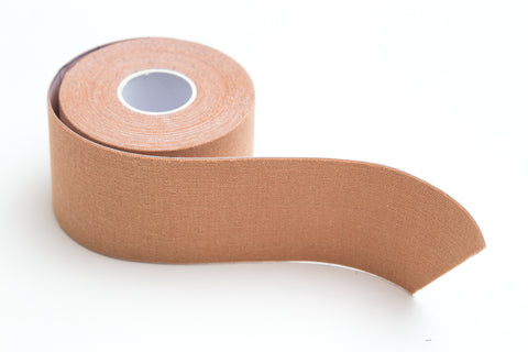Tru-Colour Kinesiology Tape for Beige Skin - Case of 12 Rolls