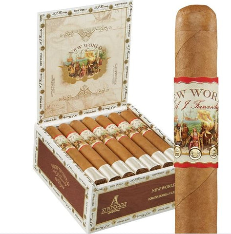 AJF New World Connecticut Robusto Fiver