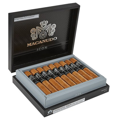 Macanudo Icon Robusto Box