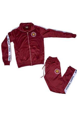"DR3AM3RS ""Maroon"" Tracksuit"