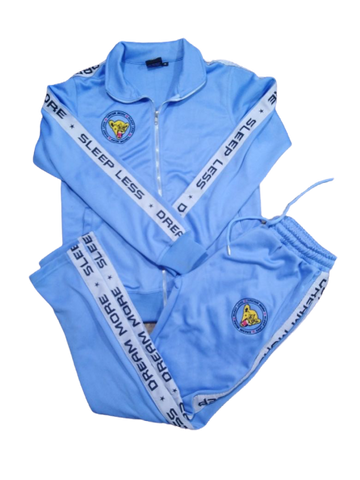 DR3AM3RS Carolina Blue Tracksuit