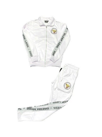 **Premium** White DR3AM3RS Tracksuit