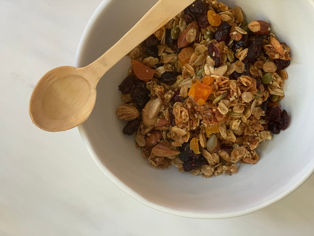 Our favourite granola recipe