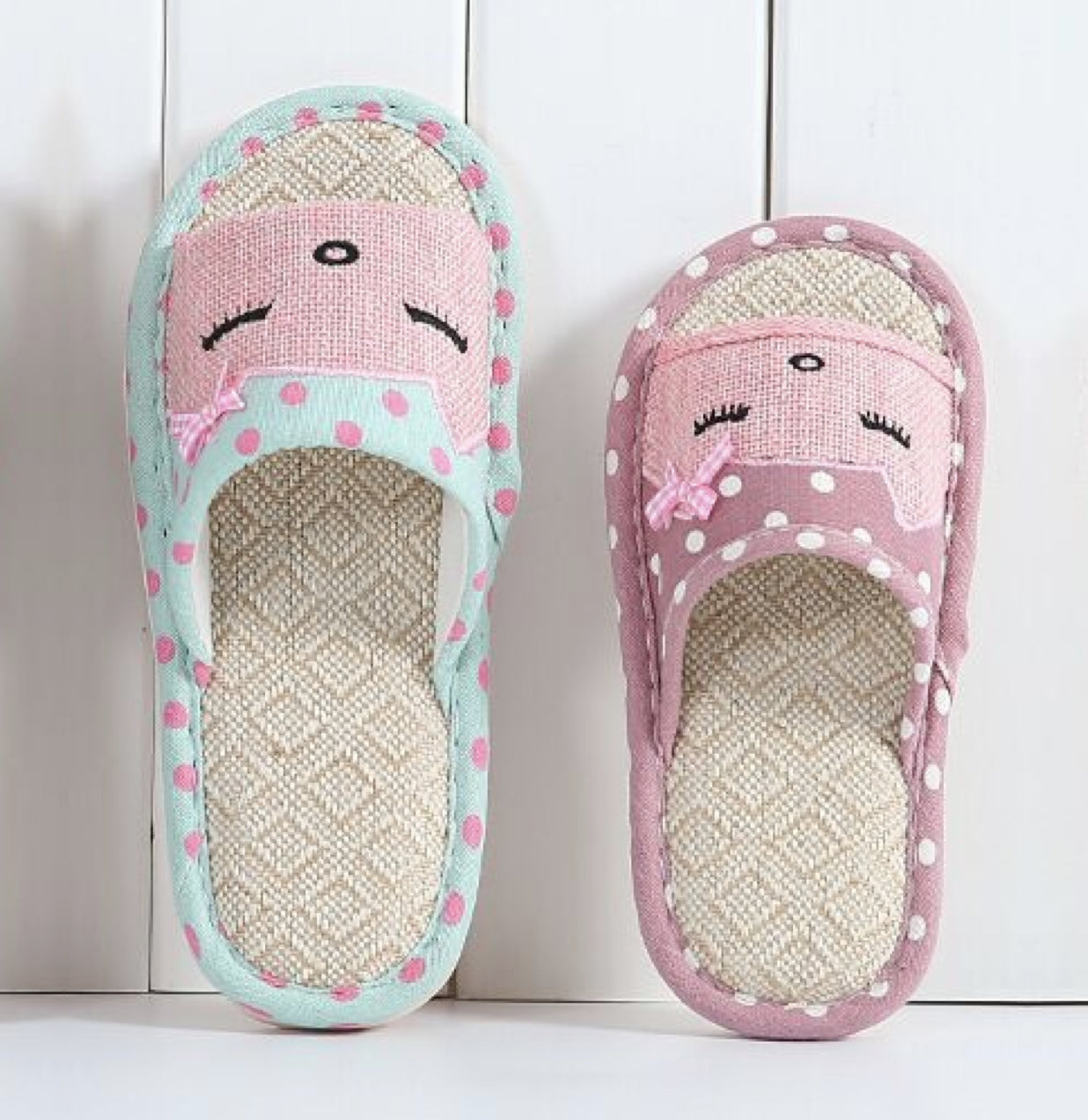 Cat Style Home Slippers for Women