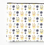 Fortune Cat Pattern – Zipper Pouch