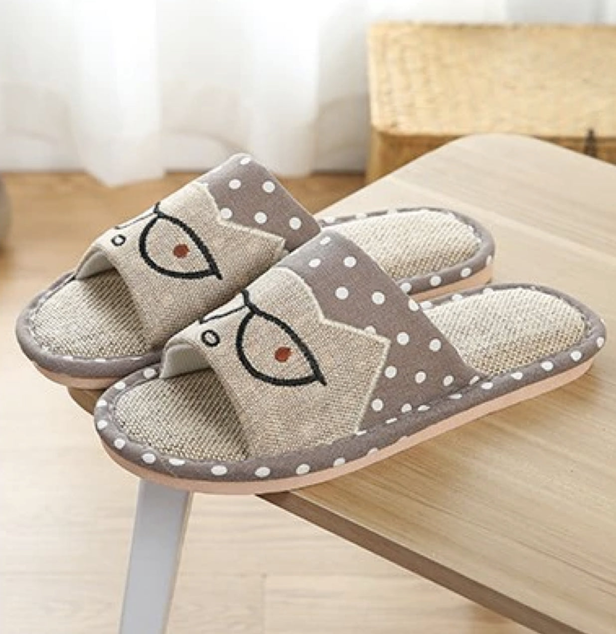 Cat Style Home Slippers Unisex