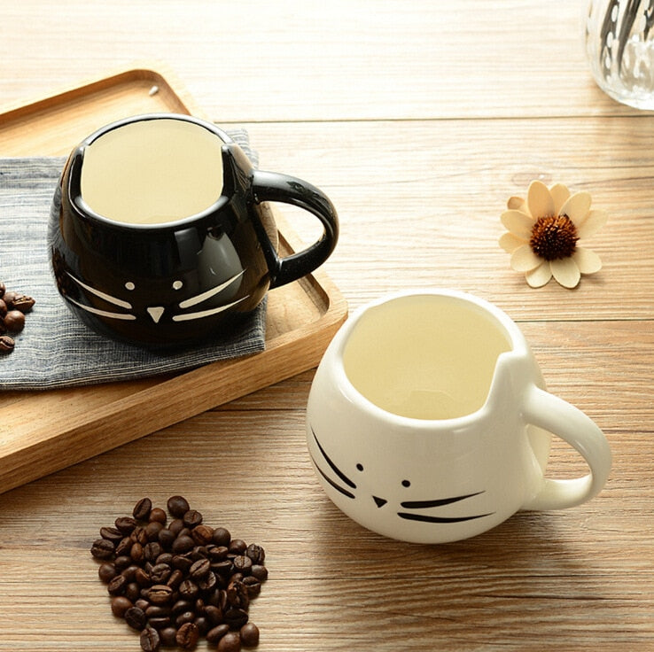 Ceramic Cat Coffee and Tea Mug