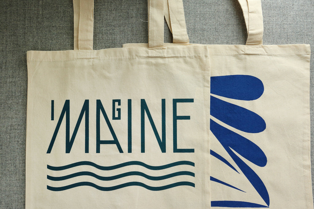 Everyday Tote Bag - Imagine Maine, CMB or CDR Designs
