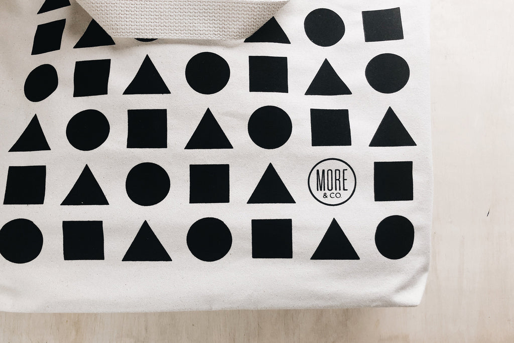 Shapes Beach Tote