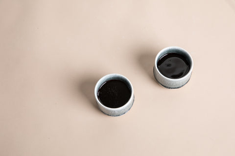 Sip Cup Set of Two - Gray & White